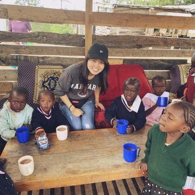 ケニアでチャイルドケア 土井彩結美